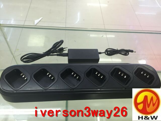 Black 6-way Charger for BAOFENG  UV82