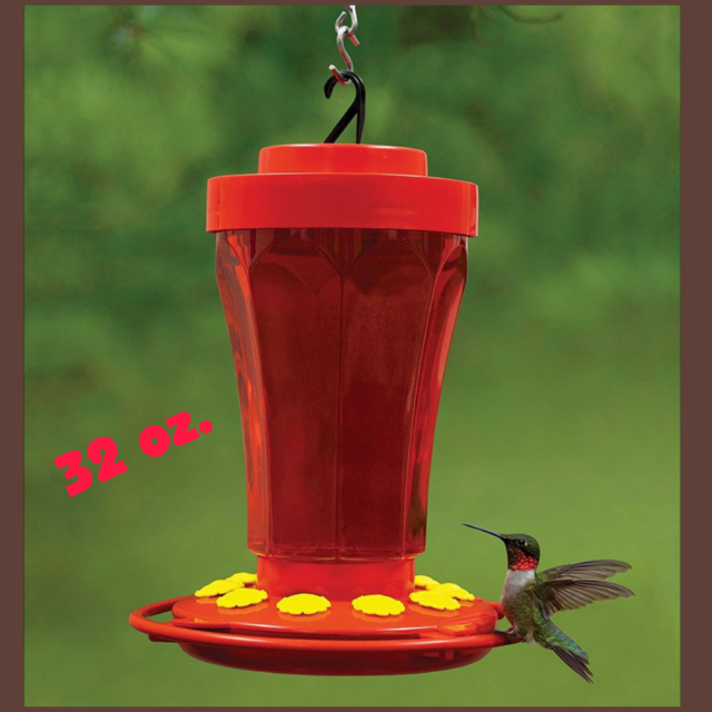 10 Deluxe Hummingbird Feeder tubes and stoppers with BB