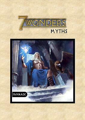 ●•• 7 Wonders ••● ✩ 49 fan-made Collection Wonders ✩ NEU in bester Qualität ✔ ツ