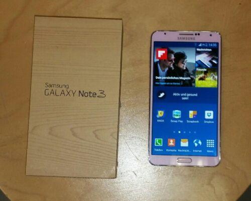 1 von 1 - Samsung  Galaxy Note 3  - 32GB - Blush Pink (Ohne Simlock) Smartphone