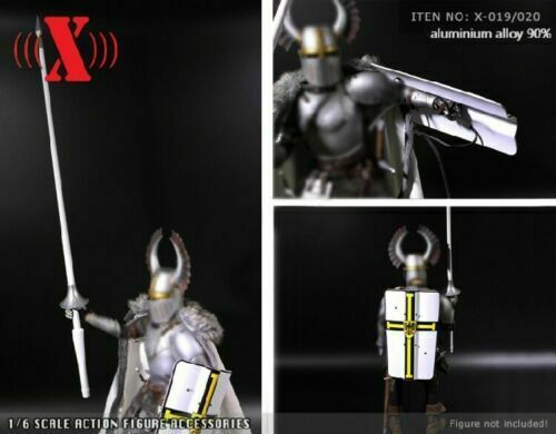 1:6 X-TOYS X-019A Spear Model White Knight Jousting Lance 12/'/' Figure Accessory