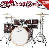 Gretsch Catalina Maple 6-piece Shell Pack Drum Kit Deep Cherry Burst 22
