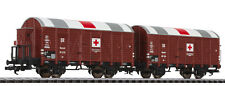 Liliput L 230136 Auxiliary Hospital Wagon Set Kassel Dr Ep. II DC