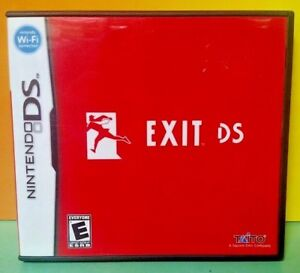 Exit-Taito-Nintendo-DS-DS-Lite-3DS-2DS-Game-Tested-Complete
