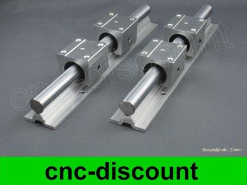 CNC Set 16x 200 mm linéaire guidage linéaire Guide Rail Stage 3d