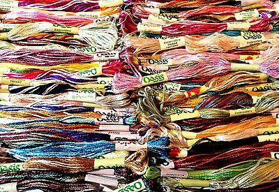 12 Hilo Metálico De Viscosa puntada bordado a mano de seda Madejas exigentes de colores