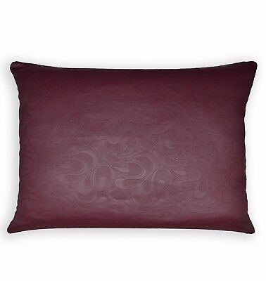 Hb403j Burgundy Embossed Wave Curve Cushion Cover//Pillow Case*Custom Size