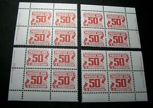 Canada-Stamp-Scott-J40-Postage-Due-1969-78-Marched-Blocks-MNH-H91