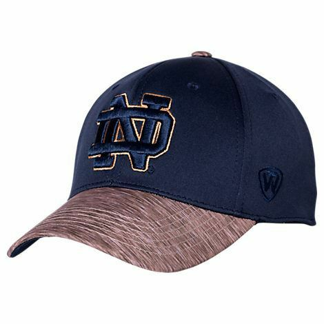 Notre Dame Fighting Irish Hat Lightspeed Stretch Cap One Fit TOTW NCAA