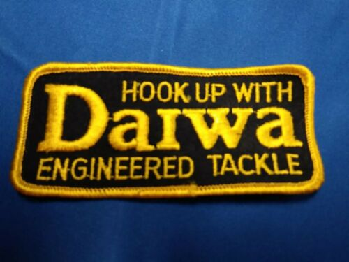 DAIWA HOOK UP WITH ENGINEERED TACKLE Patch
