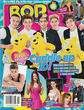 One Direction, Justin Bieber, 6 Giant Posters Inside  February 2013 Bop Magazine