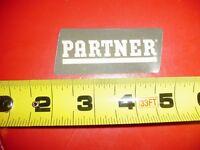 Partner Chainsaw Decal Sticker ---------------------- Box79