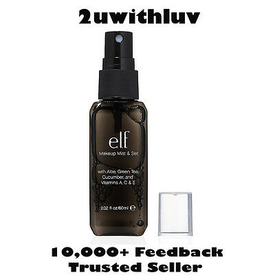 E.L.F. ELF MAKEUP MIST & SET SETTING SPRAY CLEAR 60ML #85023 FAST POST