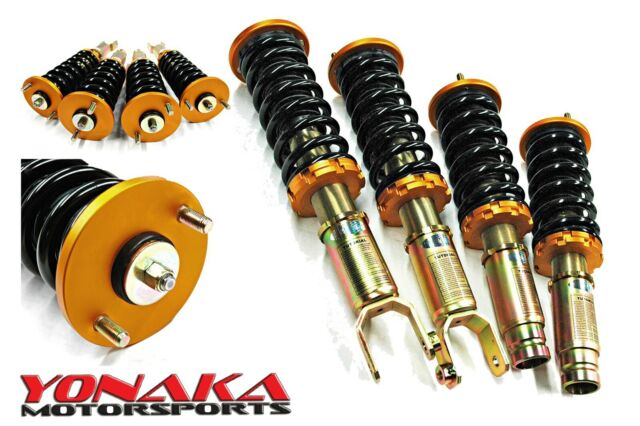 Yonaka Honda Accord 98-02 Coilovers Suspension Kit Shocks Springs 4 CYL V6  CF