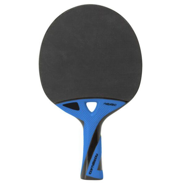 100% Vero Cornilleau Nexeo X90 Carbon Tennis Da Tavolo Pipistrello Veloce Ping Pong Paddle-nero/blu Belle Arti