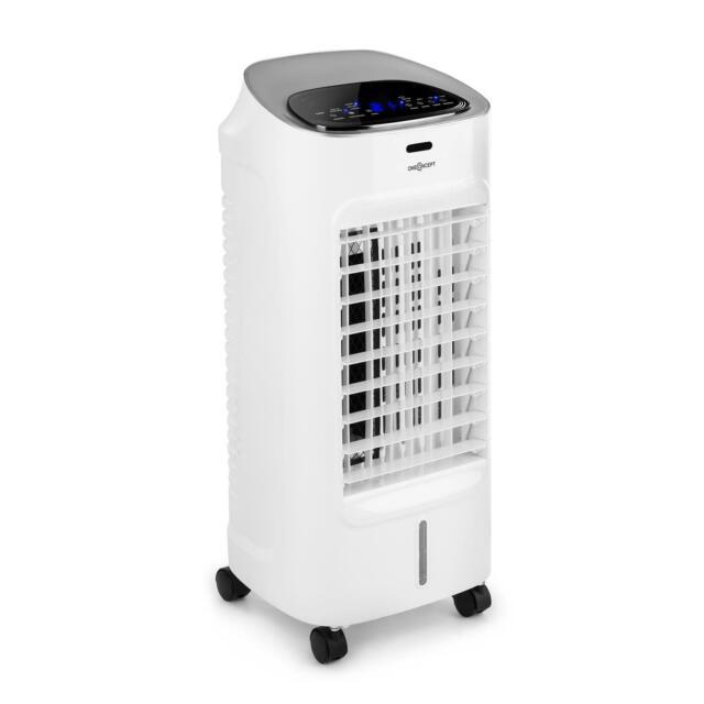 oneConcept 65W 320m³h Ventilateur Rafraîchisseur d'Air Blanc