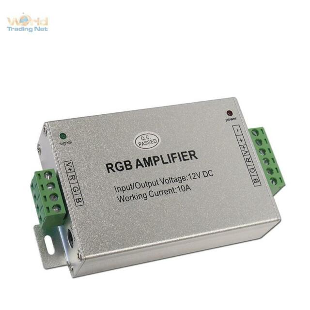 LED RGB Verstärker, Repeater, Amplifier, 12V DC 3,5A/Kanal, Verstaerker