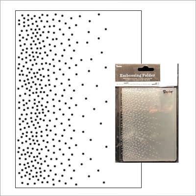 Falling Dots 4.25 X 5.75 Inches Darice Embossing Folder