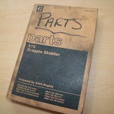 Cat Caterpillar 518 Grapple Skidder Parts Manual Book Spare List 95u Series List