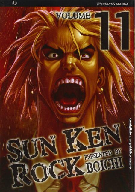 Sun Ken Rock N° 11 - Edizioni BD - Jpop - ITALIANO NUOVO #NSF3