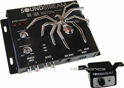 SOUNDSTREAM BX10X MEGA BASS DIGITAL EPICENTER PROCESSOR for SUBWOOFER AMPLIFIER