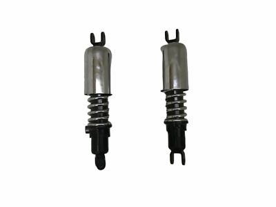 JAWA 353 354 359 360 BLACK CHROME PLATED PAIR REAR SHOCK ABSORBER BRAND NEW