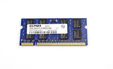 2GB DDR2 Laptop RAM Elpida 800MHz  PC2-6400S