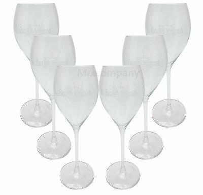 6x Gläser 0,1l Geeicht Kelch Clever Fürst Von Metternich Sektglas Gläser Flöte Set Reklame & Werbung