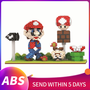 Super Mario Micro Diamond Particle Building Block Kids Toys DIY Assembly Gifts