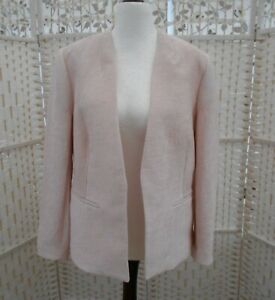 Women-039-s-Roman-Originals-Size-16-Pale-Pink-Special-Occasion-Edge-to-Edge-Jacket