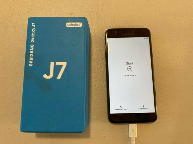 AS IS/FOR PARTS Samsung SM-J737U Galaxy J7 (2018) 32GB *read description*