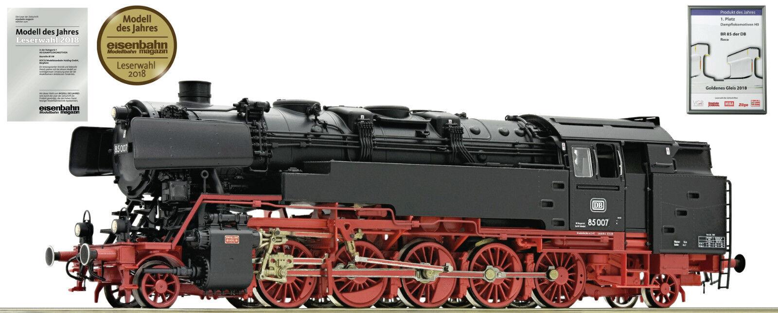 Roco 78270 Locomotiva a Vapore Br 85 007 Ws / Ac Digital Nuovo