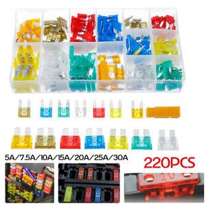 220x-Mini-Blade-Fuse-Assortment-Car-Truck-Home-Fuses-Kit-5-7-5-10-15-20-25-30Amp