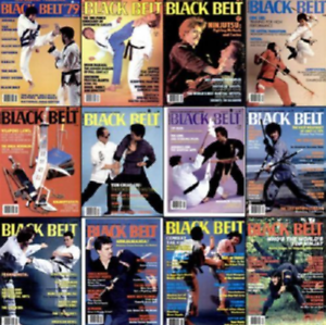 Details about BLACK BELT MAGAZINE - THE COMPLETE 80'S COLLECTION ON DISK -  MARTIAL ARTS - PDF