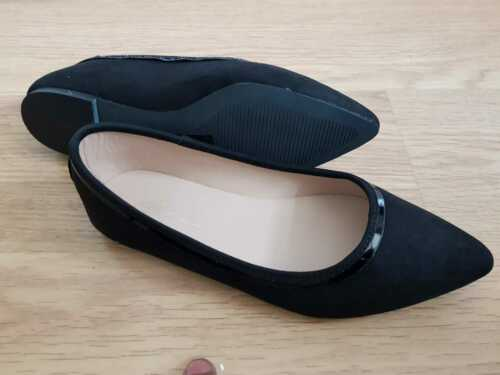 Parklane amplia pie para Mujer Zapatos Planos En Punta RRP £ 30 Negro//babpink//Bronceado//Naranja