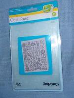 Cuttlebug Embossing Folder, Christmas Countdown, Brand