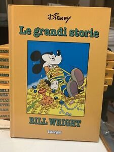 LE-GRANDI-STORIE-WALT-DISNEY-n-24-BILL-WRIGHT-CARTONATO-COMIC-ART-DOT