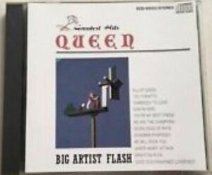 QUEEN-greatest-hits-CD-compilation-japan-1989-classic-rock-very-good-pop