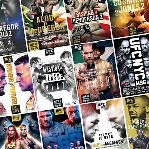 UFC-Fight-Posters-PHOTO-Print-POSTER-Prints-MMA-Conor-McGregor-UFC-158-Present