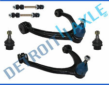 6pc 2007-2015 Chevy Silverado Sierra Front Control arm Ball joint Sway bar link