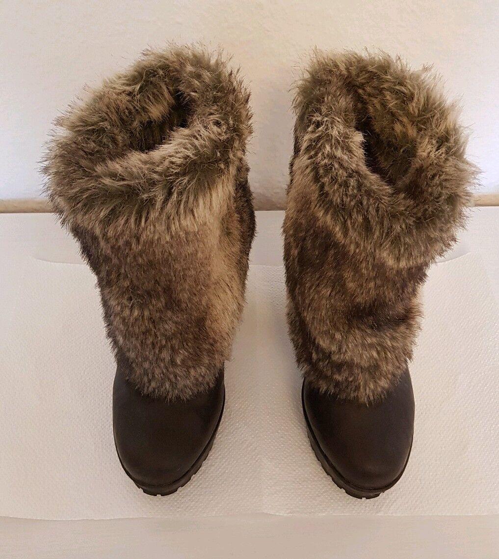 Blowfish Valentino Damen Gr.41 Schuhe Stiefeletten mit Fellimitat Gr.41 Damen 7815c9