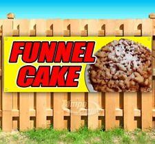 Funnel Cake Advertising Vinyl Banner Flag Sign Many Sizes Available Usa