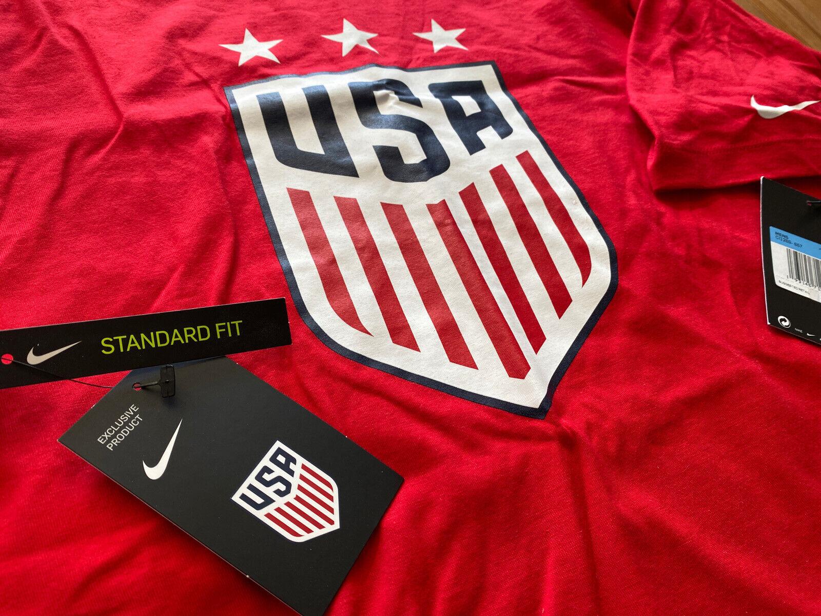 Faial Universal presión  Nike Men's USA National Soccer Team Shorts 729680-480 Size M 28 Blue for  sale online | eBay