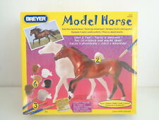 BREYER MODEL HORSE PAINTING KIT NO. 4114 - 2 HORSES, PAINTS & BRUSHES - NEW