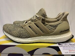 Details about ADIDAS ULTRA BOOST 3.0 TRACE KHAKI CLEAR BROWN WHITE BLACK CG3039 Size 9