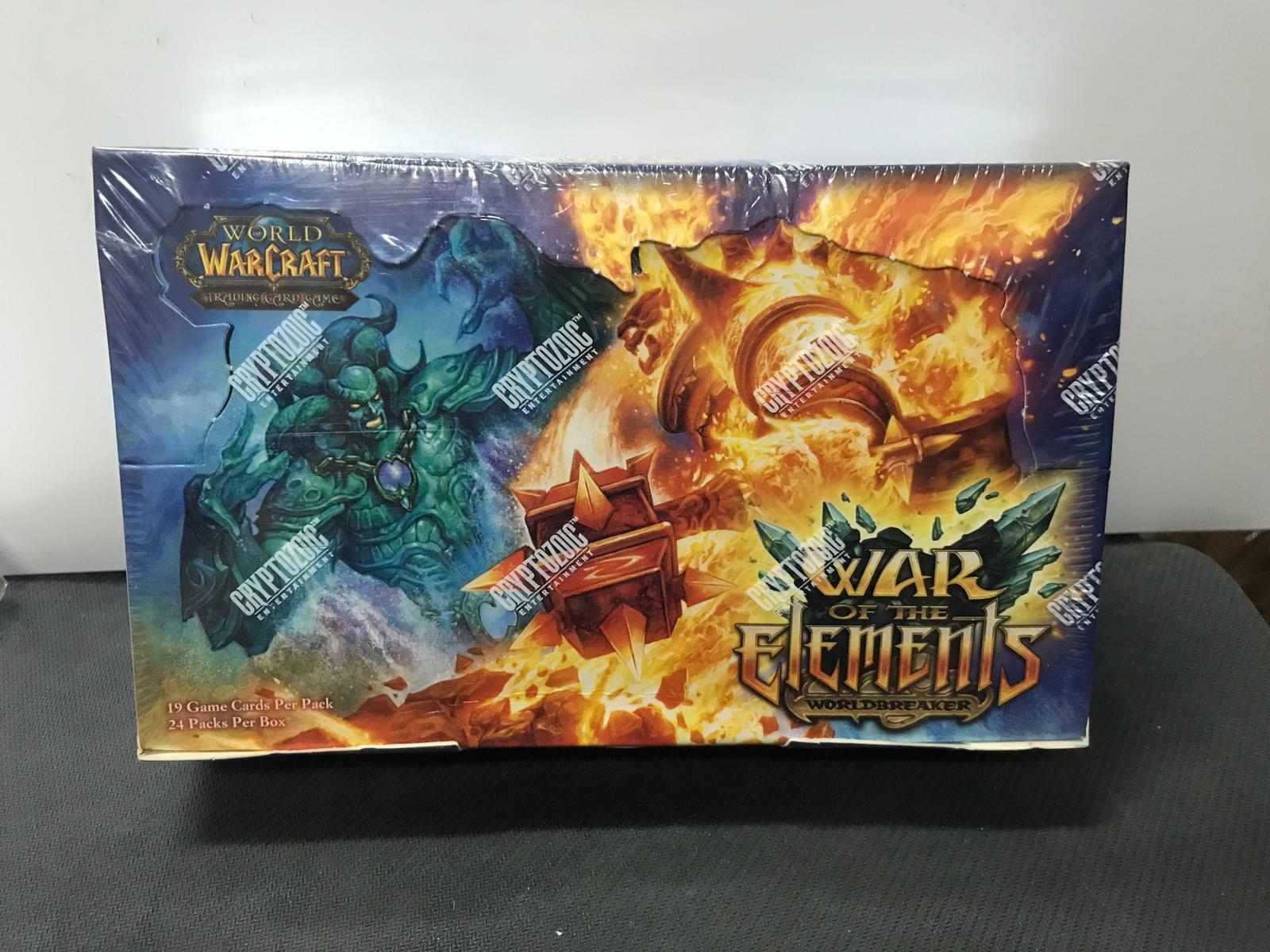 NEW FACTORY SEALED TCG World of Warcraft War of Elements English Booster Box x1
