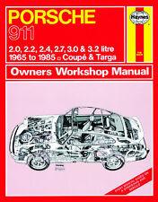 Porsche 911 1965-1985 Ur-G-Modell - Reparaturanleitung workshop service manual