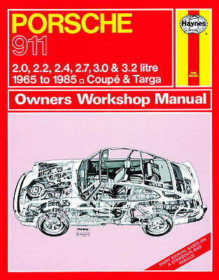 Ausdauernd Porsche 911 1965-1985 Ur-g-modell - Reparaturanleitung Workshop Service Manual