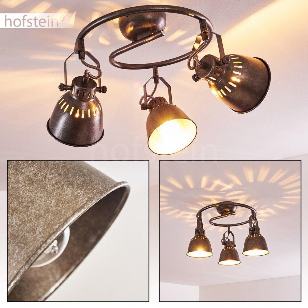 Plafonnier Retro Lampe de corridor Lampe à suspension Lustre de cuisine Métal
