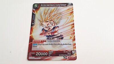 assaut lourd Français NM Dragon Ball Super BT3-058 Son Goku Super Saiyan